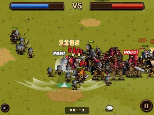 Online Strategiespiele Mini warriors auf Deutsch