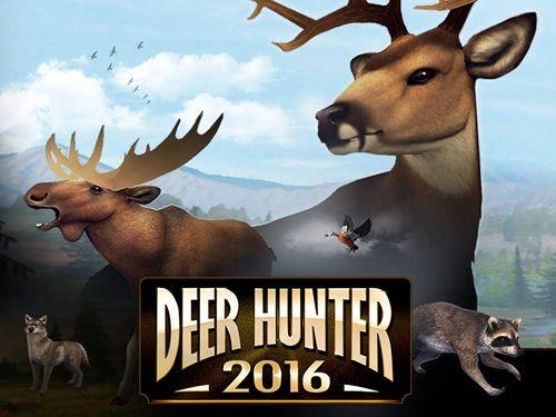 логотип Охотник на оленей 2016