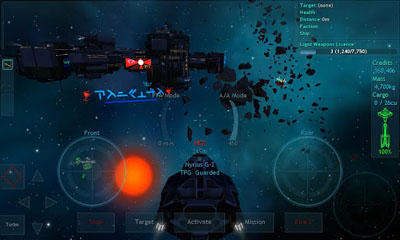 Vendetta Online captura de pantalla 1