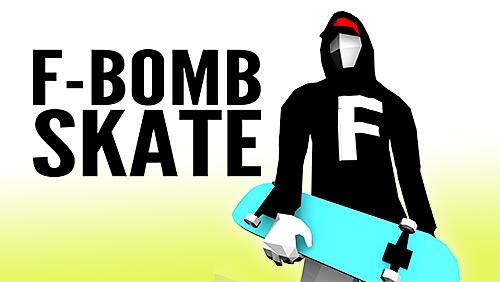 logo F-Bomb Skate