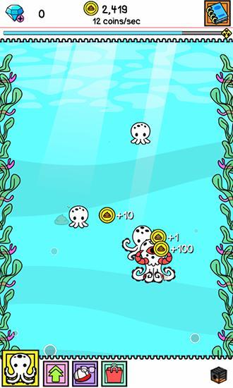 Arcade Octopus evolution: Clicker für das Smartphone