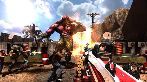 Rage Z: Multiplayer zombie FPS para Android
