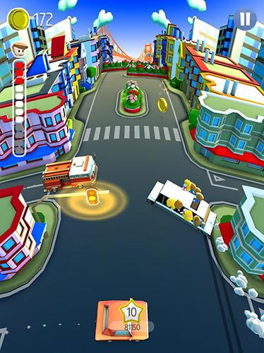 Drifting school bus Screenshot