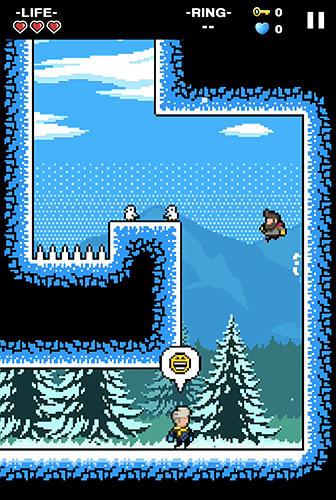 Mountain climber: Frozen dreamcapturas de pantalla