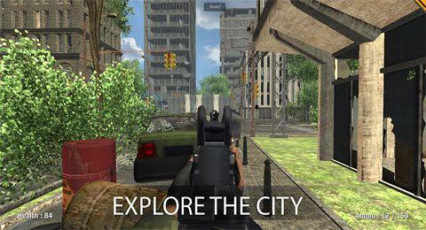 Soldaten vs. Zombies für iPhone
