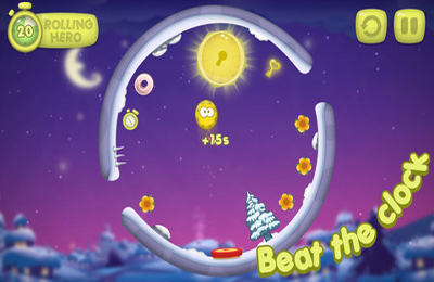 Arcade: download Rolling Hero for your phone