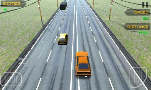 Arcade-Spiele Highway traffic driver für das Smartphone
