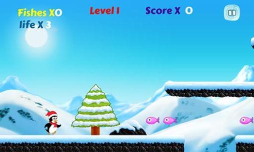 Polar penguin run für Android