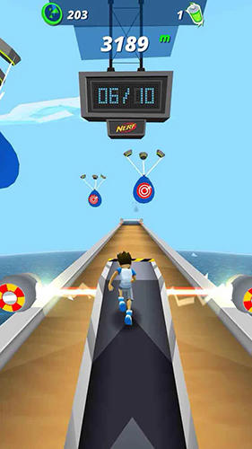 Nerf energy rush pour Android
