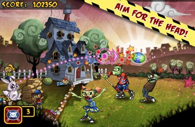 Los Zombies arrastrándose para iPhone gratis