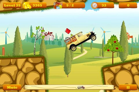 Screenshot Truck Go auf dem iPhone