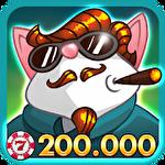 Mafioso casino slots game icono