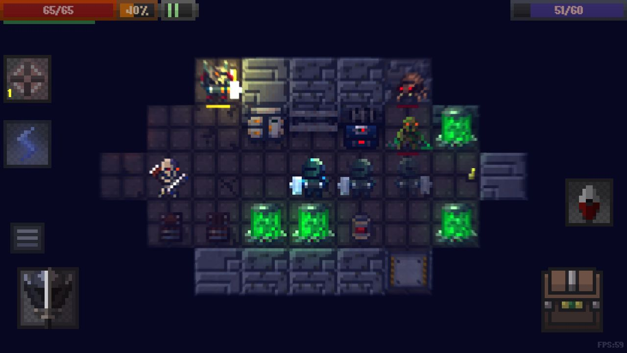 Caves (Roguelike) для Android