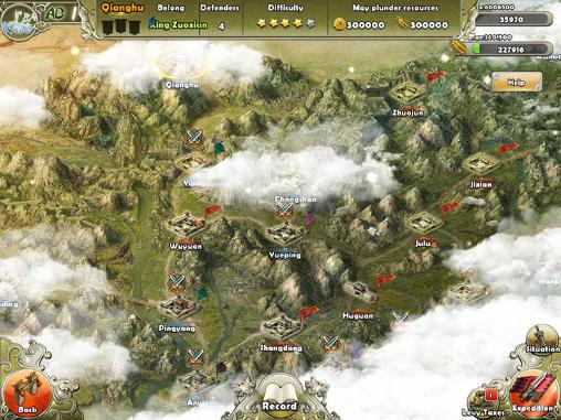Online games Dynasty war for smartphone