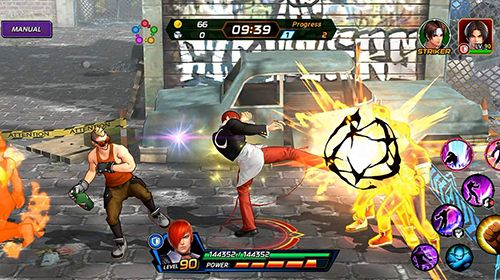 Screenshot The king of fighters: Allstar on iPhone