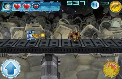Screenshot Alien-Marsch auf dem iPhone