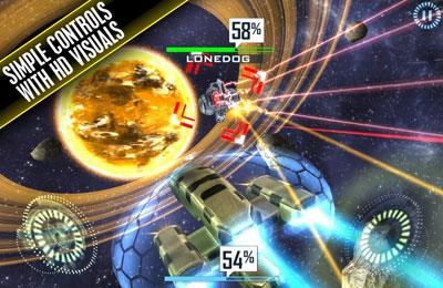 3D Weltraum Shooter auf Deutsch