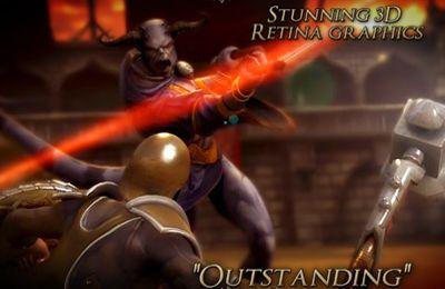 Screenshot Wut der Gladiatoren auf dem iPhone