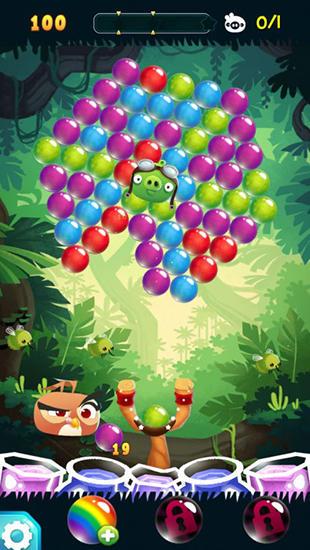 Jogos de arcade Angry birds: Stella poppara smartphone