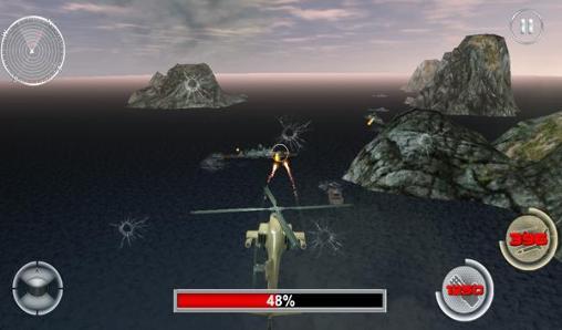 de simulateur Navy gunship shooting helicopter pour smartphone