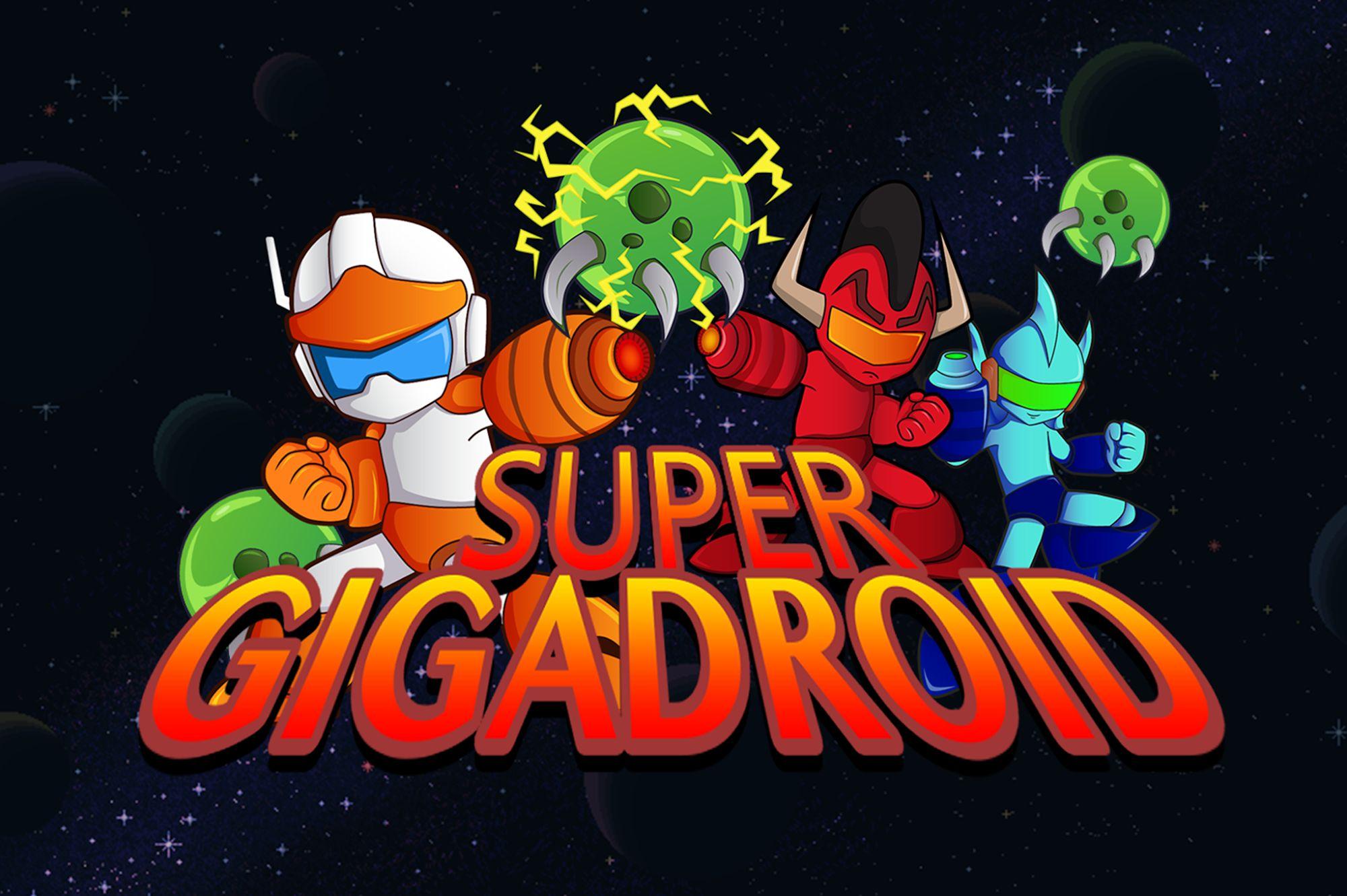 Super Gigadroid capture d'écran 1