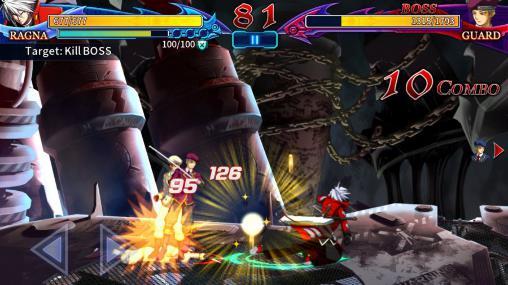 Blazblue: Revolution reburning. Fighting screenshot 1