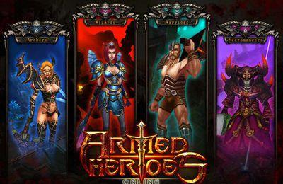 RPG-Spiele: Lade Bewaffnete Helden Online auf dein Handy herunter