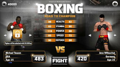 Boxing: Road to champion screenshot 2