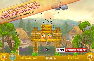Arcade-Spiele: Lade Verdecke die Apfelsine auf dein Handy herunter