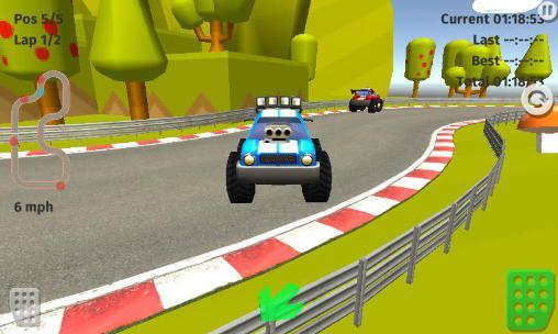 Cartoon racing car games für Android