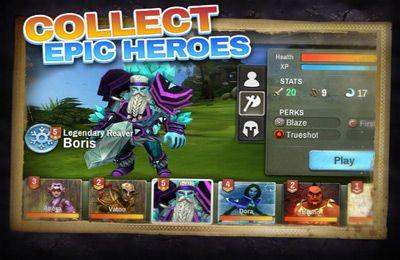 Jogo de luta: faça o download de O Equipe de Heróis para o seu telefone