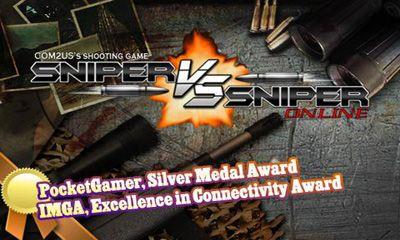 Arcade-Spiele Sniper Vs Sniper: Online für das Smartphone