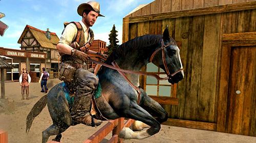 Actionspiele Western cowboy gun shooting fighter open world für das Smartphone