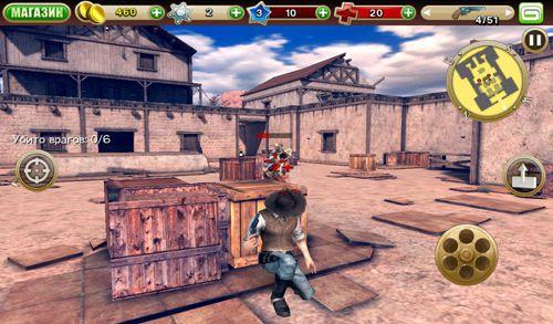 Captura de pantalla Seis pistolas: Rnfrentamiento de pandillas en iPhone
