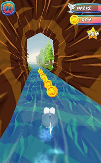 Choppy fish: 3D run Screenshot