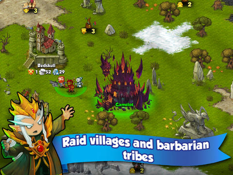 RPG: download Band of Heroes: Battle for Kingdoms to your phone
