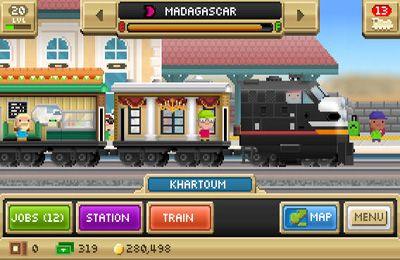 Screenshot Pocket Trains on iPhone