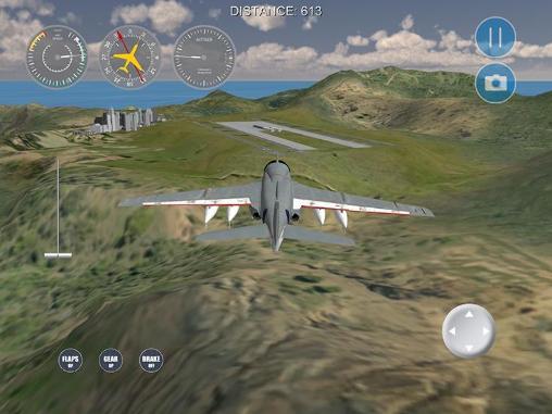 Simulation Airplane! 2: Flight simulator für das Smartphone