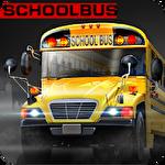 High school bus driver 2 Symbol