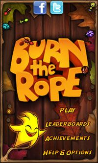 Burn the Rope Worlds Screenshot