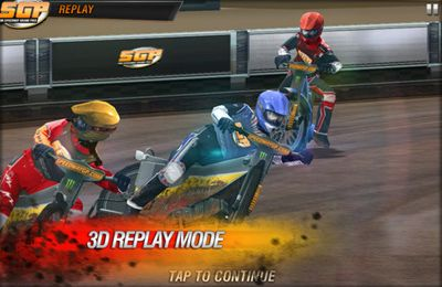 Racing games: download Speedway GP 2012 to your phone