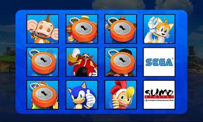 Carreras Sonic & SEGA All-Stars Racing para teléfono inteligente