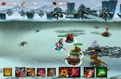 Screenshot Monster-Bändiger auf dem iPhone