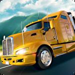 USA truck driver: 18 wheeler icône