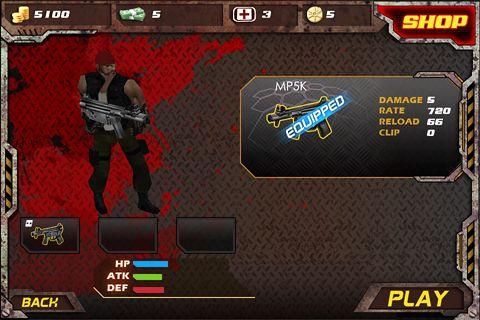 Actionspiele: Lade 3D Zombie Krise 3 auf dein Handy herunter