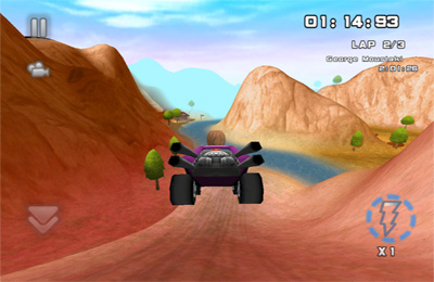 Скріншот Bounty Racer на iPhone