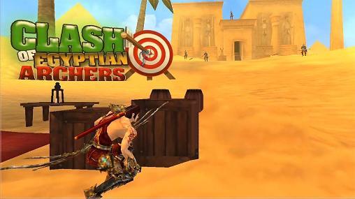 logo Conflicto de arqueros egipcios