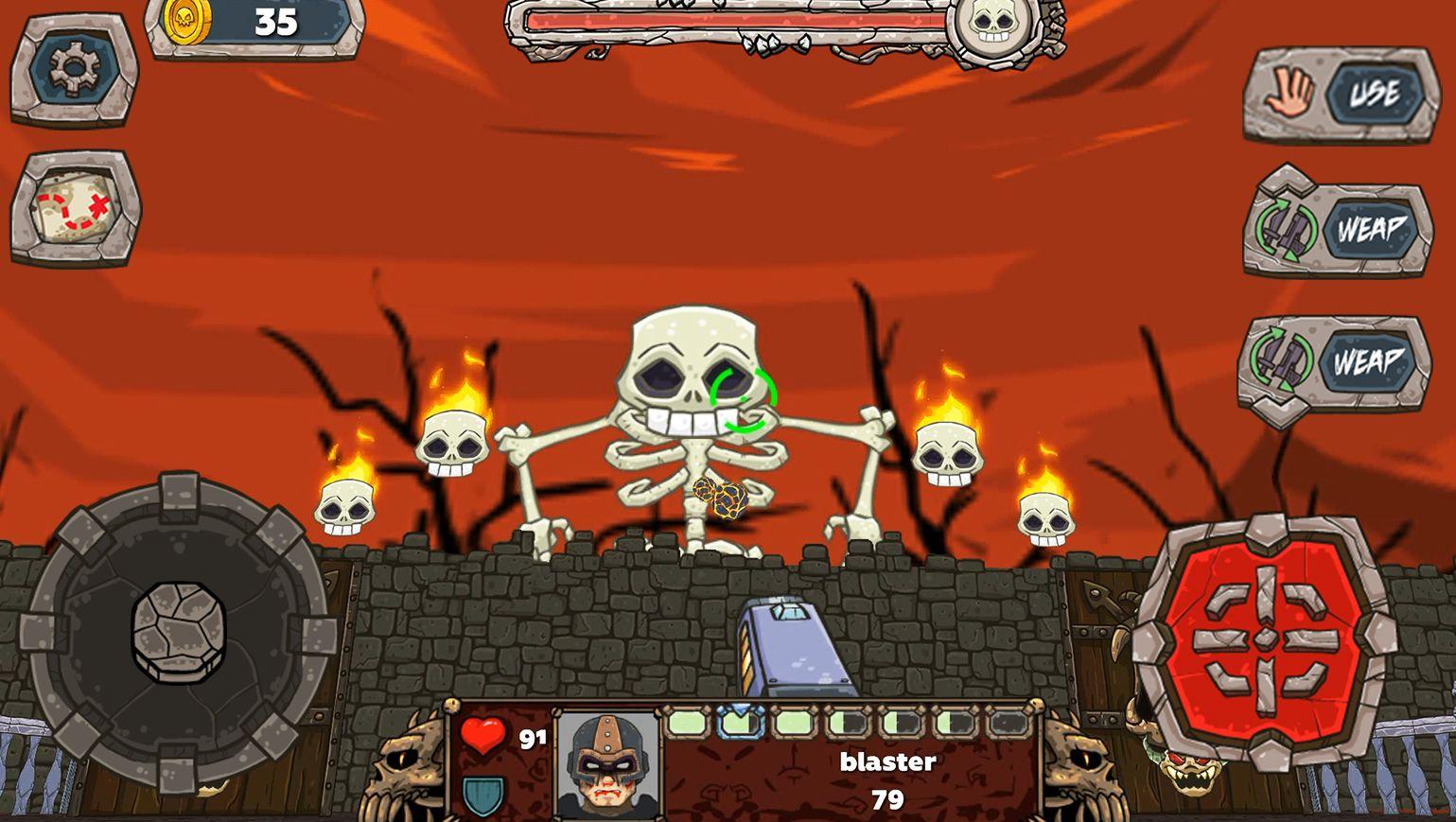Demon Blast - 2.5d game retro fps скріншот 1