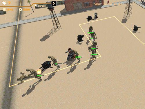 Screenshot Zombie Apocalypse auf dem iPhone