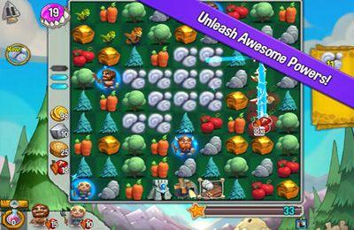 Screenshot Höhlenmania auf dem iPhone